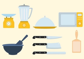 Free Kitchen Utensil Vector - Free vector #415689