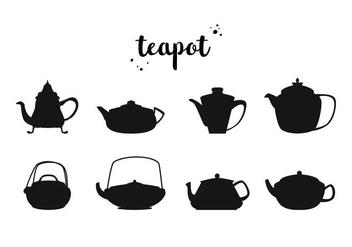 Free Teapot Vector - vector gratuit #415769