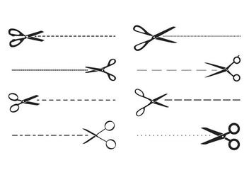 Free Scissors Vector - бесплатный vector #415789