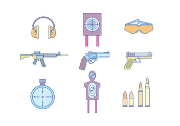 Guns & Shooting Equipment - бесплатный vector #416069