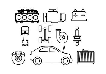 Free Auto Body Vector - vector #416949 gratis