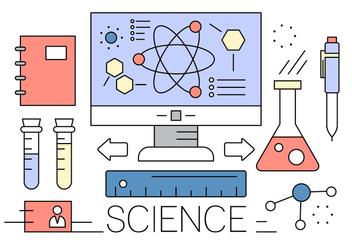 Free Science Vector Elements - Kostenloses vector #417039