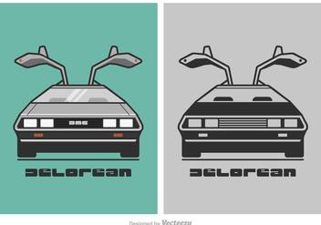 Free DeLorean Vector Illustration - Free vector #417549