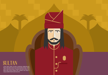 Sultan Background - vector gratuit #418299
