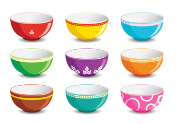 Kind of Bowl - vector gratuit #418379