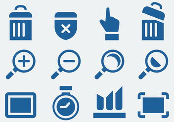 Website Icons Set - Free vector #418629