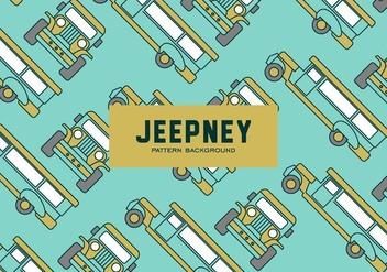 Jeepney Pattern - Free vector #418889