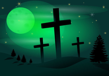 Free Holy Week Vector Illustration - Free vector #419089