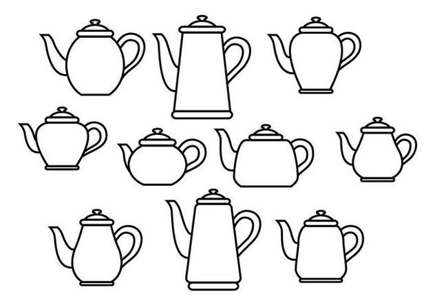 Free Teapot Vector - Free vector #419389