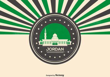 Rtero Style Jordan Illustration - vector gratuit #419709