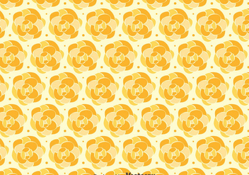 Orange Camellia Pattern Background - Free vector #419809