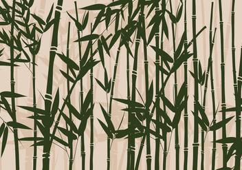 Bamboo Vector - vector gratuit #420229