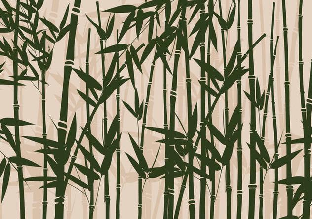 Bamboo Vector - Free vector #420229