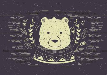 Free Vector Polar bear Illutration - vector #420279 gratis
