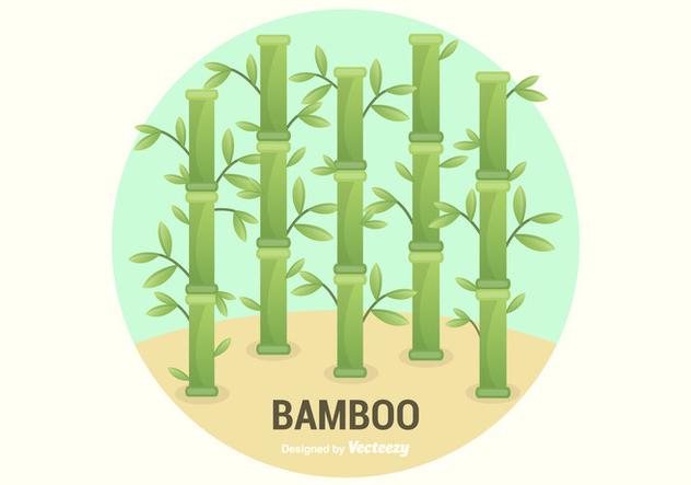 Free Bamboo Vector Illustration - Free vector #420399