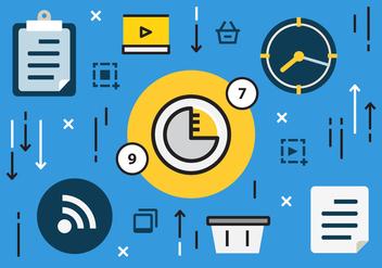 Free Digital Marketing Business Vector Illustration - Kostenloses vector #420469