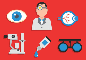Eye doctor vector - vector #420749 gratis