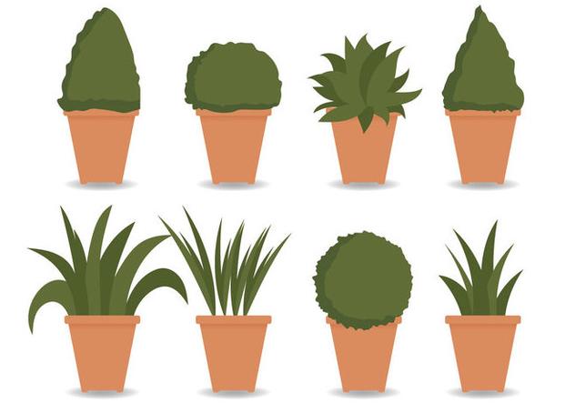 Planter Vector - Free vector #420949