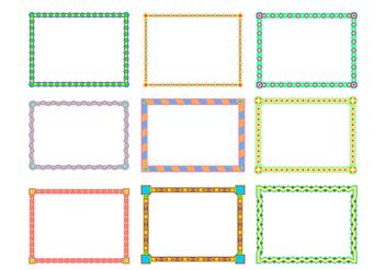Landscape Border Funky Frames Free Vector - Free vector #421019
