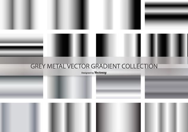 Grey Gradient Vector Collection - Free vector #421289