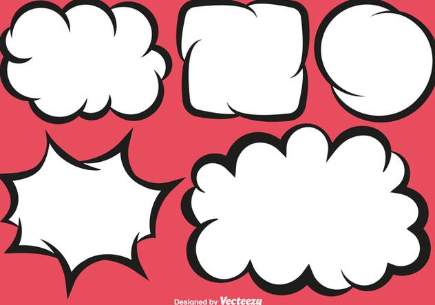 Vector Bubble Speech - Kostenloses vector #421449
