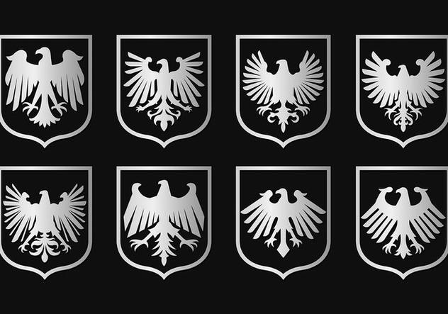 Eagle Seal Symbol Vectors - Kostenloses vector #421489