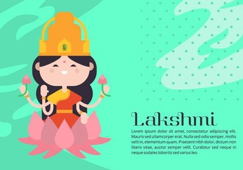 Lakshmi Background - Free vector #421569
