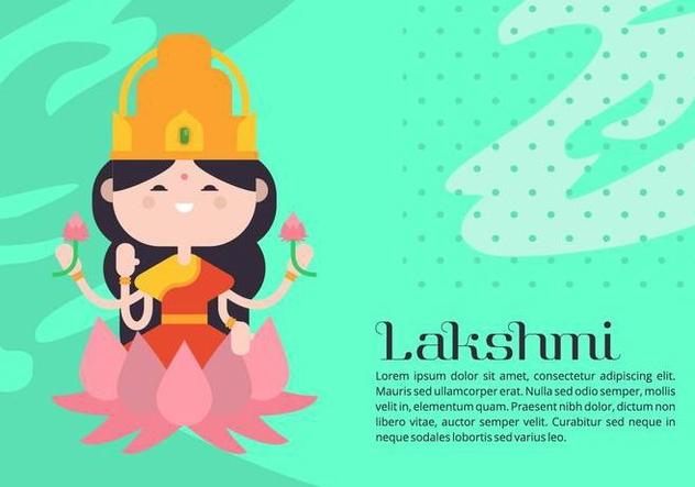 Lakshmi Background - Kostenloses vector #421569