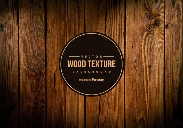 Vector Dark Wood Texture Background - Free vector #421839