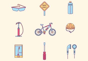 Free Biking Vector - бесплатный vector #421979