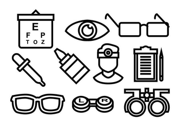 Free Eye Doctor Vector Icon - Kostenloses vector #422339