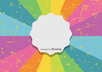 Colorful Retro Background - Free vector #422769