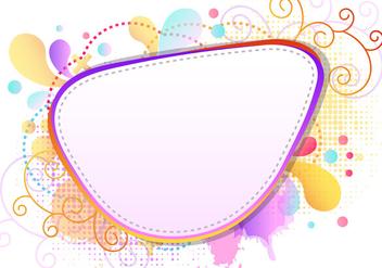 Colorfull Splash Of Funky Frames - vector #423019 gratis