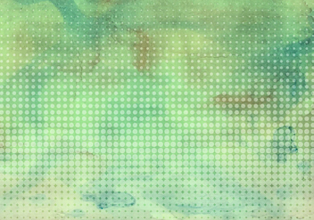 Free Vector Colorful Watercolor Background With Halftone - бесплатный vector #423049