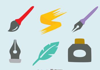Inkwell Element Vectors - Kostenloses vector #423349
