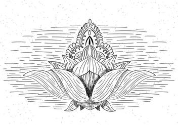 Free Vector Flower Symbol - Kostenloses vector #423369