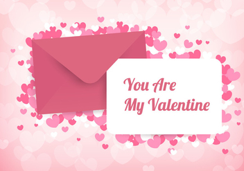 Valentine Card Vector - бесплатный vector #424269