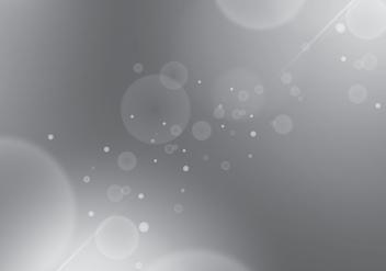 Grey Gradient Background Bokeh Glam Free Vector - Free vector #424779