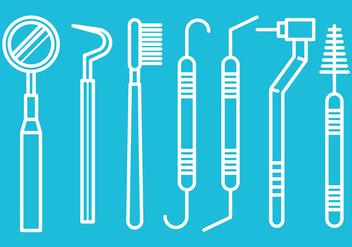 Free Dentista Tools Vectors - Free vector #425219