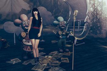 Loredana dress & heels by Salt @ Mesh Body Addicts Bi-Monthly - Free image #425589