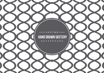 Cute Hand Drawn Style Background Pattern - vector gratuit #425839