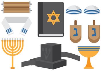 Jewish Religious Icons - Kostenloses vector #425869
