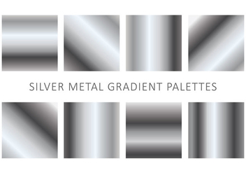Metallic Gradient Vectors - Free vector #426279