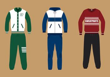 Sweatpants Suit Free Vector - бесплатный vector #427499