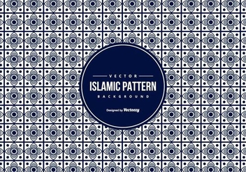 Islamic Pattern Background - vector gratuit #427599