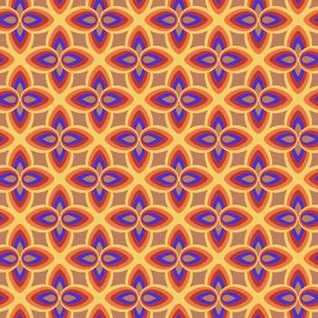 Vector abstract background with colorful floral pattern - vector gratuit #125959