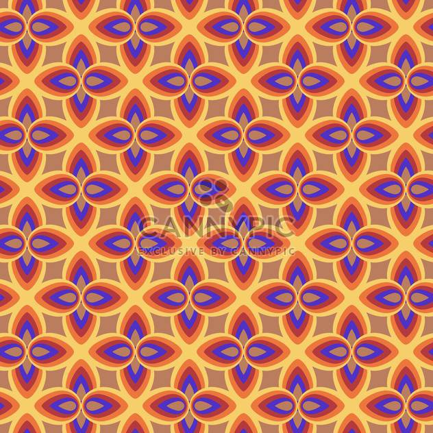 Vector abstract background with colorful floral pattern - Free vector #125959