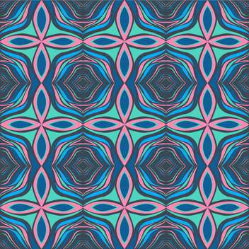 Vector abstract background in pink and blue colors repeat pattern - vector gratuit #126759