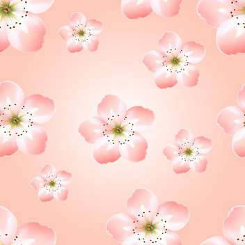 Spring background with beautiful spring flowers - vector gratuit #127119