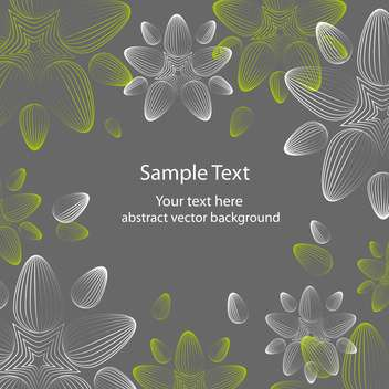 seamless floral background with beautiful flowers - vector gratuit #127559